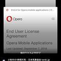 Photos: Opera Touch:タブ一覧画面の下に接続中のOperaの開いてるタブ