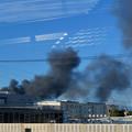 Photos: 東名高速走行中の高速バスから撮影した国盛化学の火事 - 36