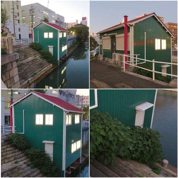 堀川の岩井橋付近にある可愛らしい建物の謎の…店舗?? - 7