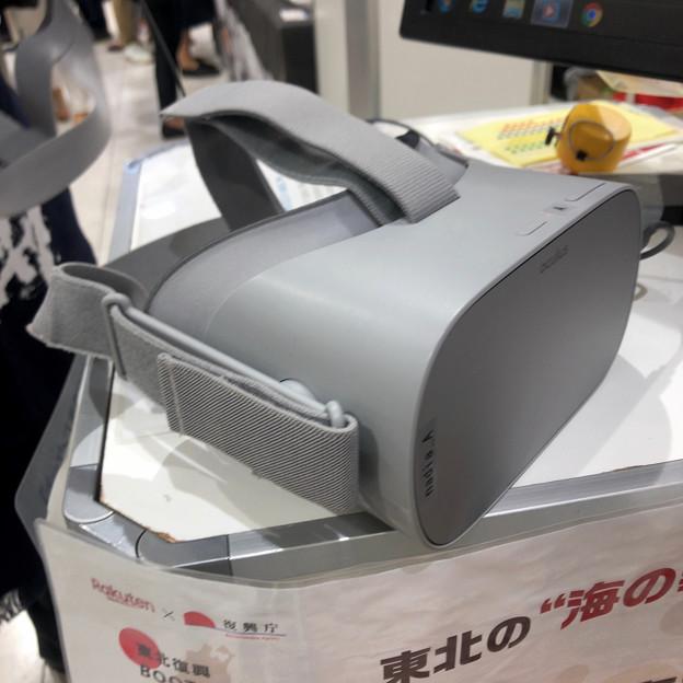 楽天うまいもの大会で初体験した「Oculus Go」