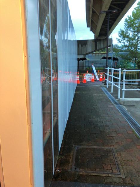 桃花台線の桃花台東駅周辺撤去工事(2018年10月11日) - 27