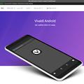 写真: Android版Vivaldiの情報配信メール登録ページ - 1