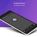 写真: Android版Vivaldiの情報配信メール登録ページ - 4