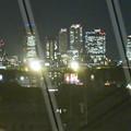 写真: エアポートウォーク名古屋 No - 17:3階フードコートから見た夜の名駅ビル群