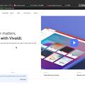 Vivaldi 2 1 1332 4:デスクトップから戻ると上に謎のバー - 3