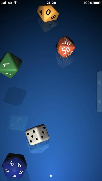 サイコロが振れるアプリ「Pip」- 3