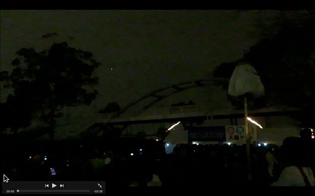 iMovie 10.1.9:フルスクリーン再生中のコントローラーは移動可能!?
