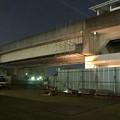桃花台線の桃花台東駅周辺撤去工事(2018年10月22日):片側高架の撤去作業が開始 - 1