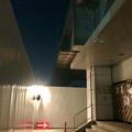 桃花台線の桃花台東駅周辺撤去工事(2018年10月22日):片側高架の撤去作業が開始 - 3