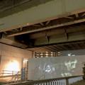 桃花台線の桃花台東駅周辺撤去工事(2018年10月22日):片側高架の撤去作業が開始 - 7