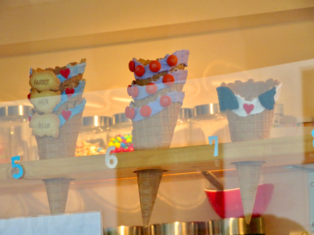 大須商店街:ポップなアイスのコーン - 2