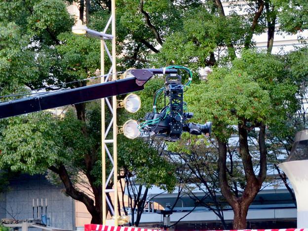 東海テレビ「ふるさとイッチー祭」2018 No - 13:巨大なカメラ用クレーン