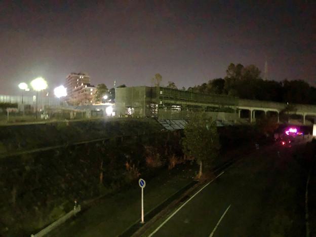 桃花台線の桃花台中央公園南側高架撤去工事(2018年11月7日) - 3