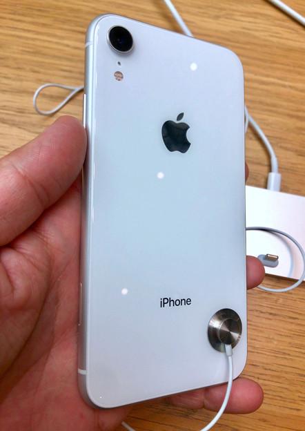 iPhone XR No - 4:ホワイトモデル(背面)