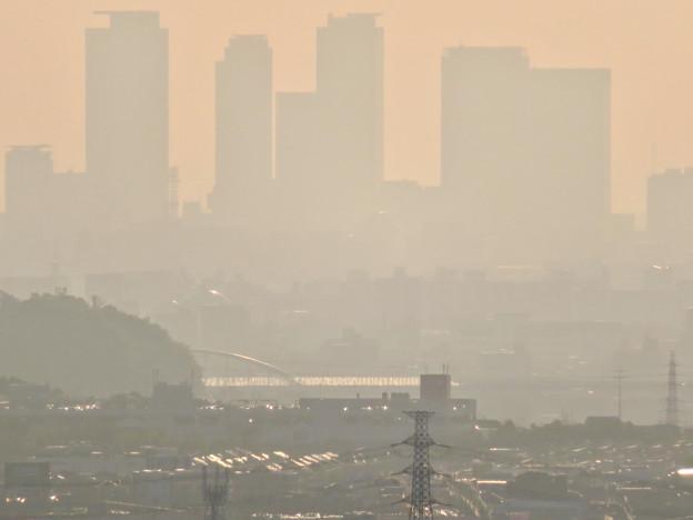 定光寺展望台から見た景色 - 4:名駅ビル群