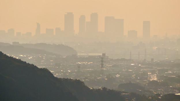 定光寺展望台から見た景色 - 7:名駅ビル群