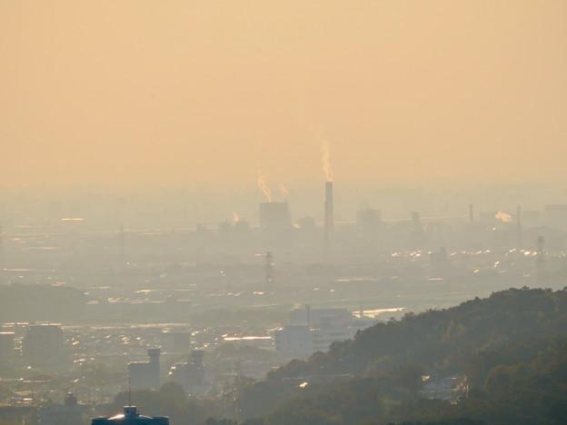 定光寺展望台から見た景色 - 13:王子製紙の工場