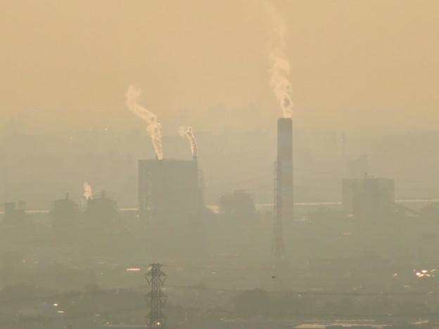 定光寺展望台から見た景色 - 14:王子製紙の工場