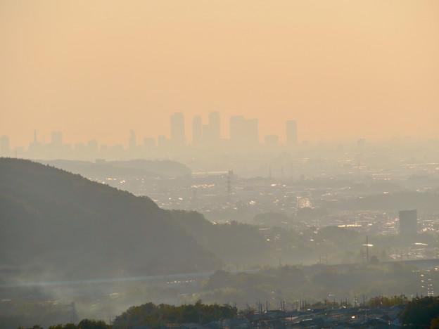 定光寺展望台から見た景色 - 16:名駅ビル群