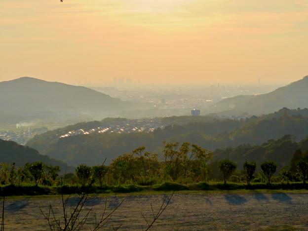 定光寺展望台から見た景色 - 18:名古屋方面