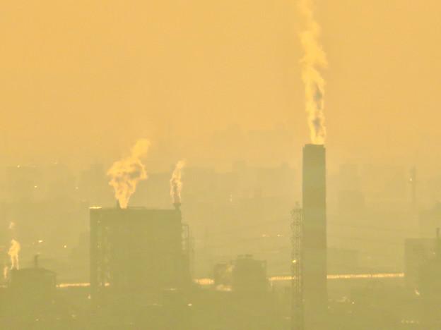 定光寺展望台から見た景色 - 31:王子製紙の工場