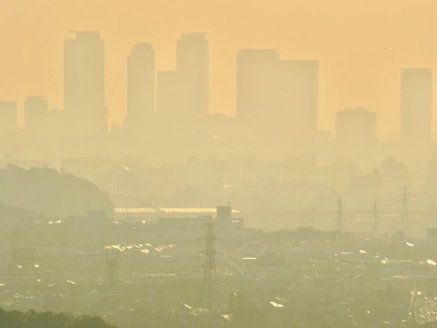 定光寺展望台から見た景色 - 32:名駅ビル群