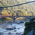 定光寺駅ホームから降りる階段から見た庄内川 - 3