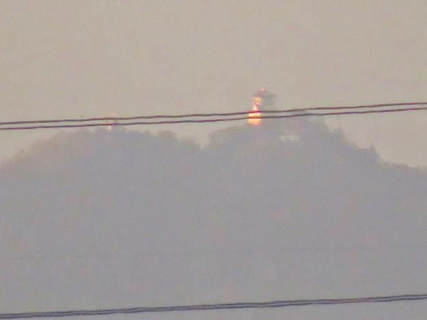 フレッシュパークの展望台から見えた岐阜城・金華山 - 3