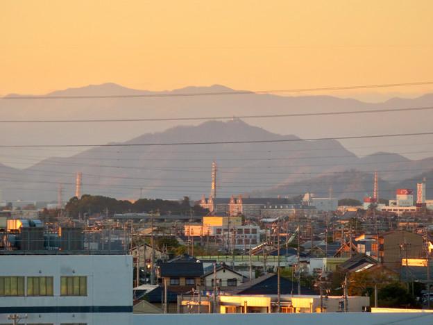 フレッシュパークの展望台から見えた岐阜城・金華山 - 4
