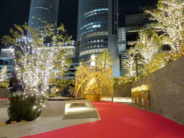 写真: すごく雰囲気が良かった、大名古屋ビルヂング5階「スカイガーデン」のクリスマス・イルミネーション - 16