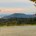 Photos: 定光寺展望台から見た景色:自衛隊の訓練施設(?)がある高座山 - 1