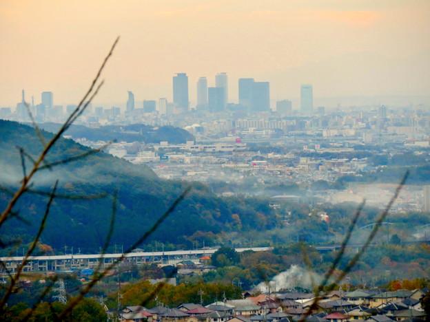 定光寺展望台から見た景色:名駅ビル群 - 7