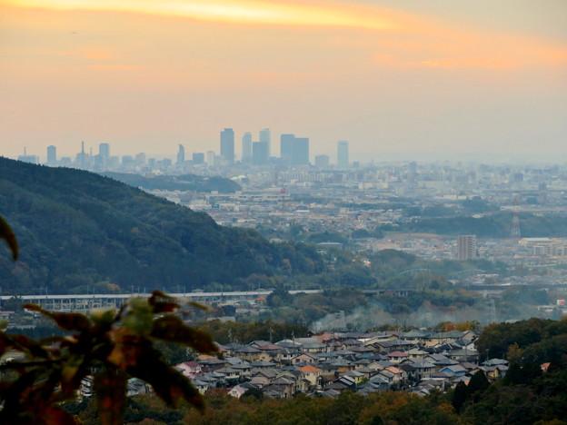 定光寺展望台から見た景色:名駅ビル群 - 13
