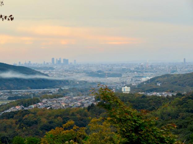 定光寺展望台から見た景色:名古屋市~春日井市方面 - 1
