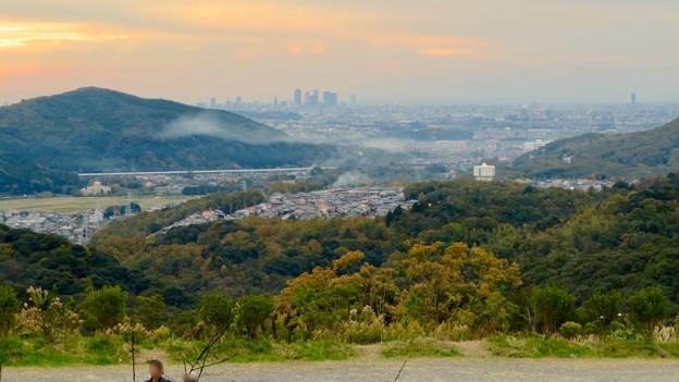 定光寺展望台から見た景色:名古屋市~春日井市方面 - 3