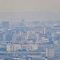 定光寺展望台から見た景色:名古屋城 - 1