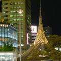 撤去予定の名古屋駅前のモニュメント「飛翔」 - 2