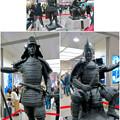 写真: 名古屋駅西口に桶狭間合戦場PRの織田信長像と今川義元像 - 8