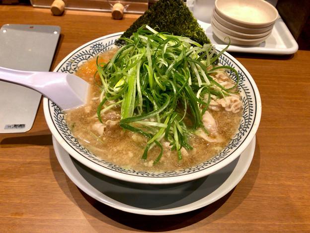 丸源ラーメン「ねぎ肉ラーメン」