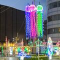 写真: 一宮駅周辺のクリスマスイルミネーション 2018 No - 2