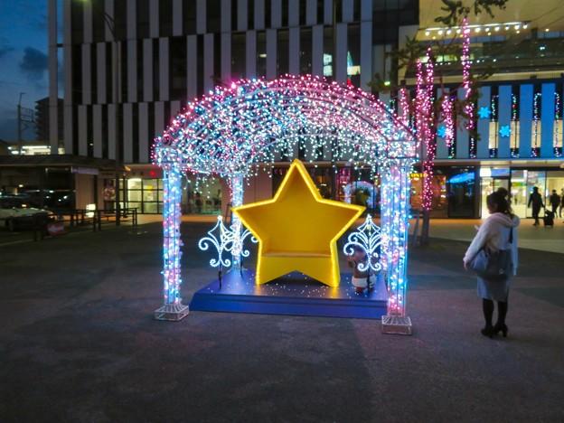 一宮駅周辺のクリスマスイルミネーション 2018 No - 4