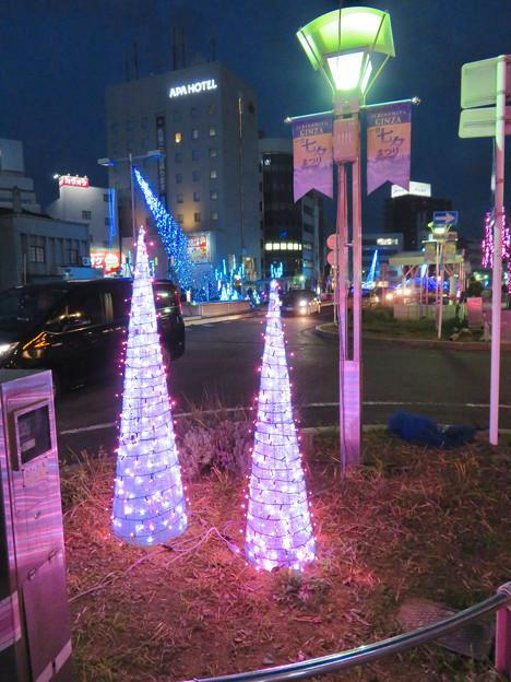 一宮駅周辺のクリスマスイルミネーション 2018 No - 10