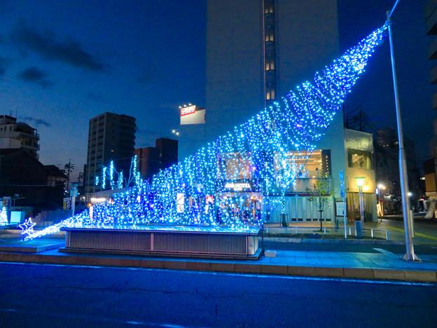 一宮駅周辺のクリスマスイルミネーション 2018 No - 15