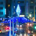 一宮駅周辺のクリスマスイルミネーション 2018 No - 21