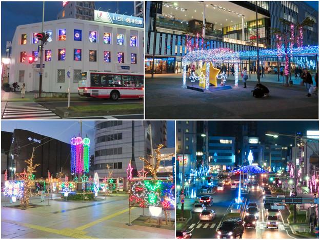 一宮駅周辺のクリスマスイルミネーション 2018 No - 22