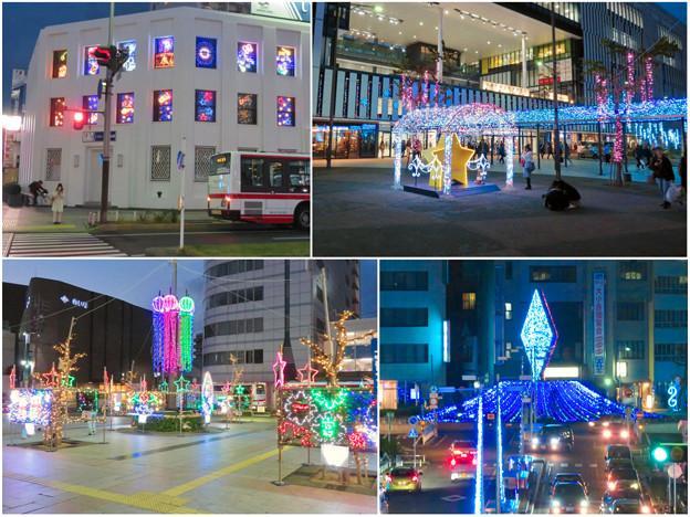 一宮駅周辺のクリスマスイルミネーション 2018 No - 23