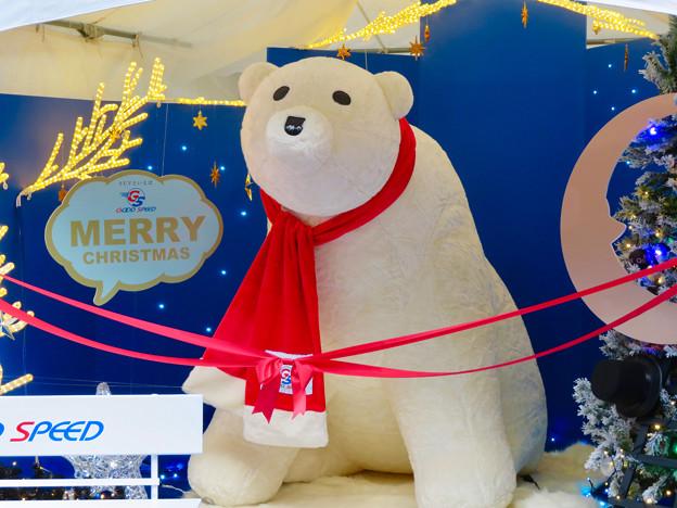 名古屋クリスマスマーケット 2018 No - 2:入り口付近に大きなシロクマ!?