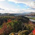 寂光院の展望台から見た景色 - 1:岐阜方面