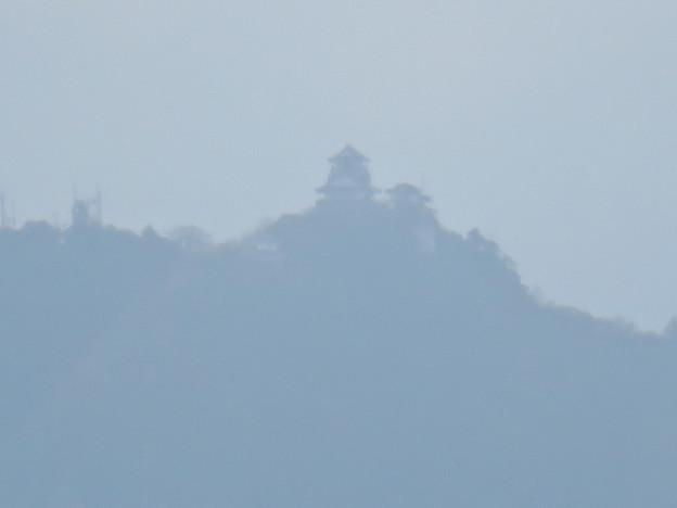 寂光院の展望台から見た景色 - 6:岐阜城
