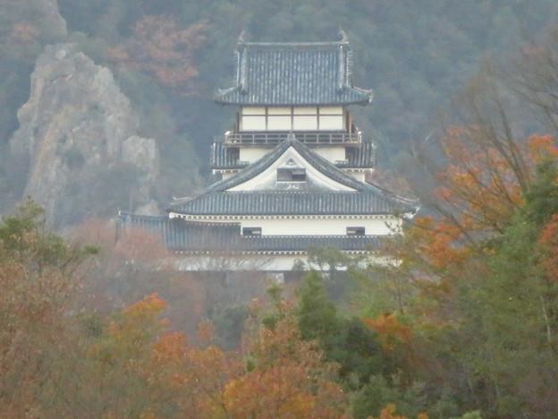 寂光院の展望台から見た景色 - 26:犬山城